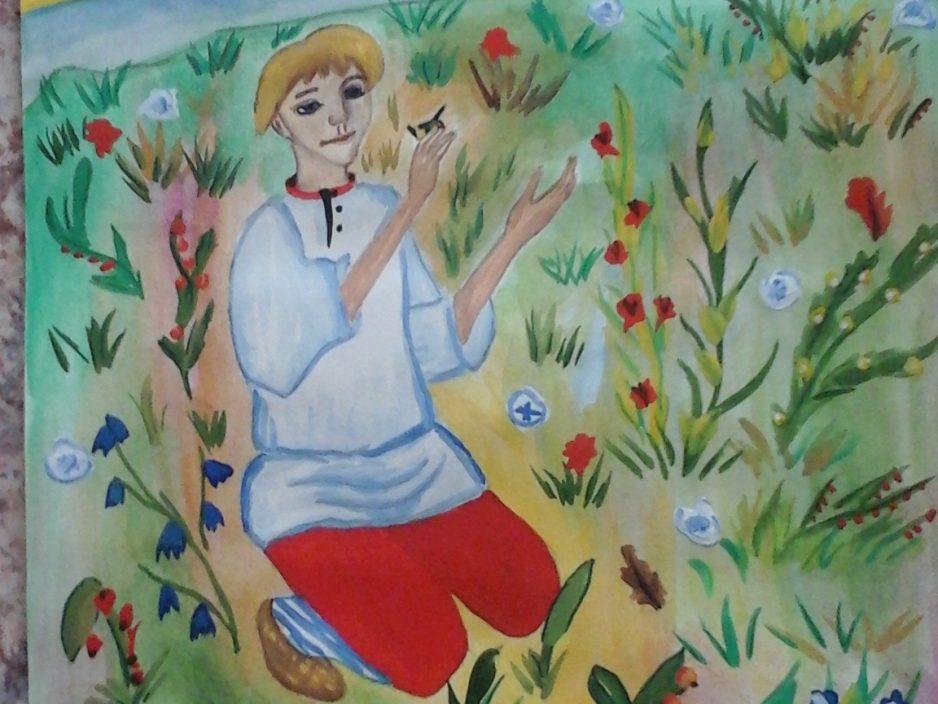 Данила – Мастер –  стал героем  детских рисунков