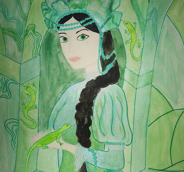 Рисунки победителей детского конкурса  стали иллюстрацией к концерту