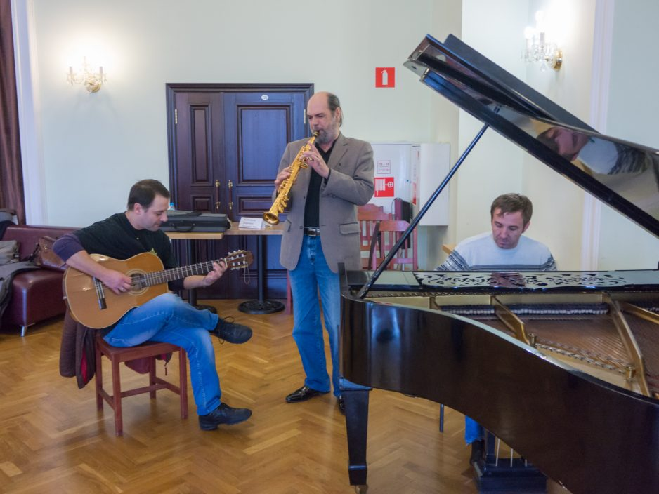 Джазмены  дали старт ХIII Международному джазовому фестивалю