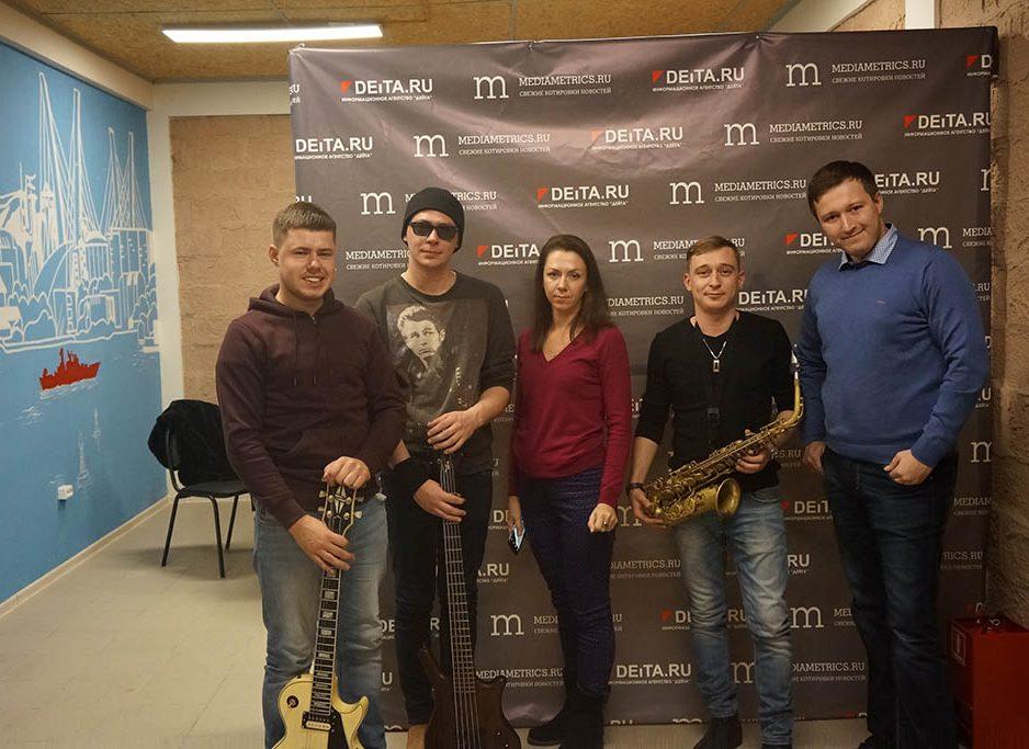 """«JazzDaniels»  выступил в прямом эфире """"Медиаметрикс. Владивосток"""""""