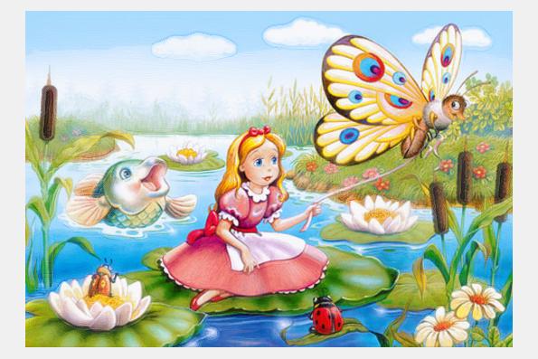 14 января Малый зал 12.00 Детская сказка «Дюймовочка»