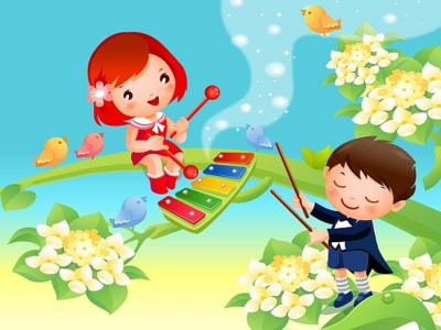 20 июля Детская музыкальная программа «Весёлые потешки, забавы да пересмешки»
