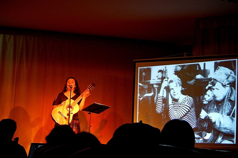 """17 мая / Малый зал / 12:00 Урок - концерт """"Я расскажу вам песню..."""" Посвящение Марку Бернесу"""