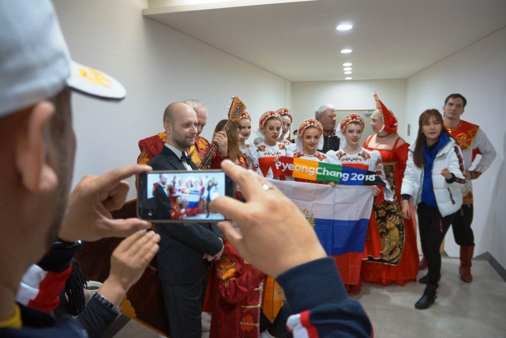 Интервью директора Приморской филармонии Анны Алеко о участии в Олимпиаде 2018