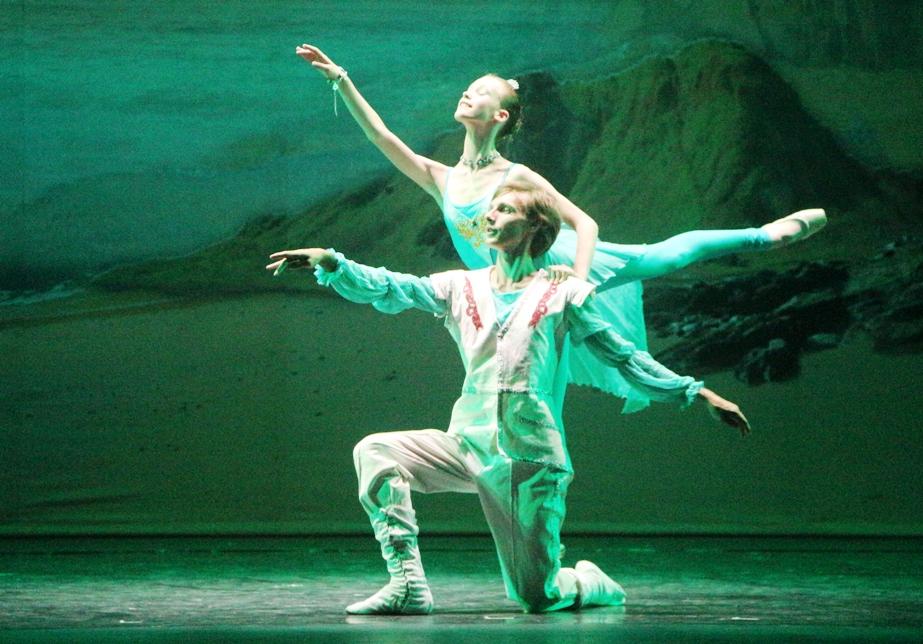 15 апреля Балет «Русалочка» на музыку П. И. Чайковского