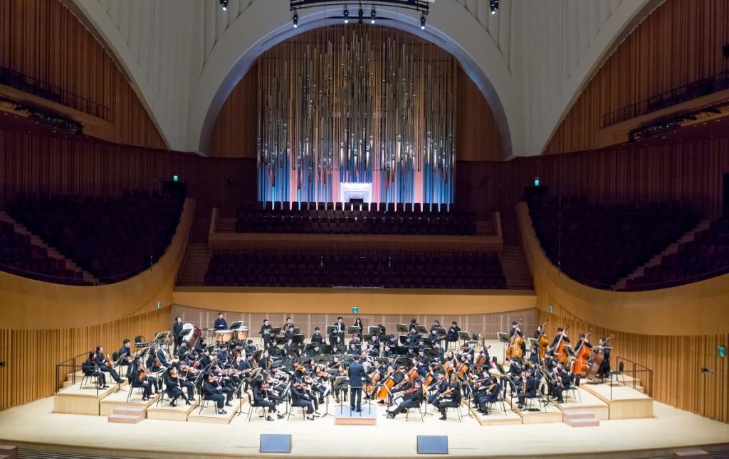 8 августа Молодёжный оркестр Республики Корея Majestic Youth  (MYO)