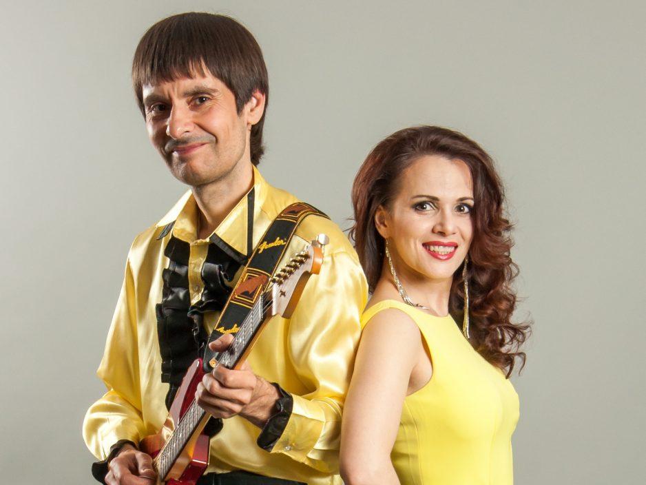 Дуэт Наталья Коршикова и Константин Мищенко