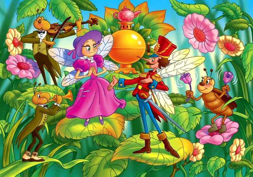 <br> 25 августа  <br> Детская музыкальная программа <br>  «Лесной бал»