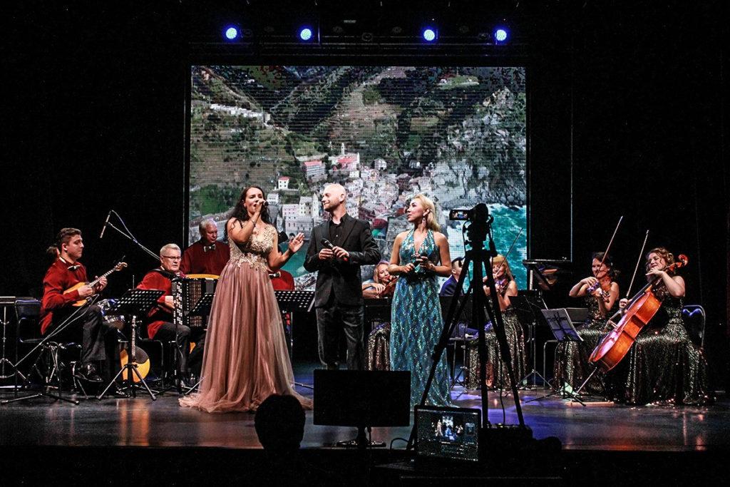 7 января Новогодняя концертная  шоу – программа «Сoncento. Классики VS Народники»