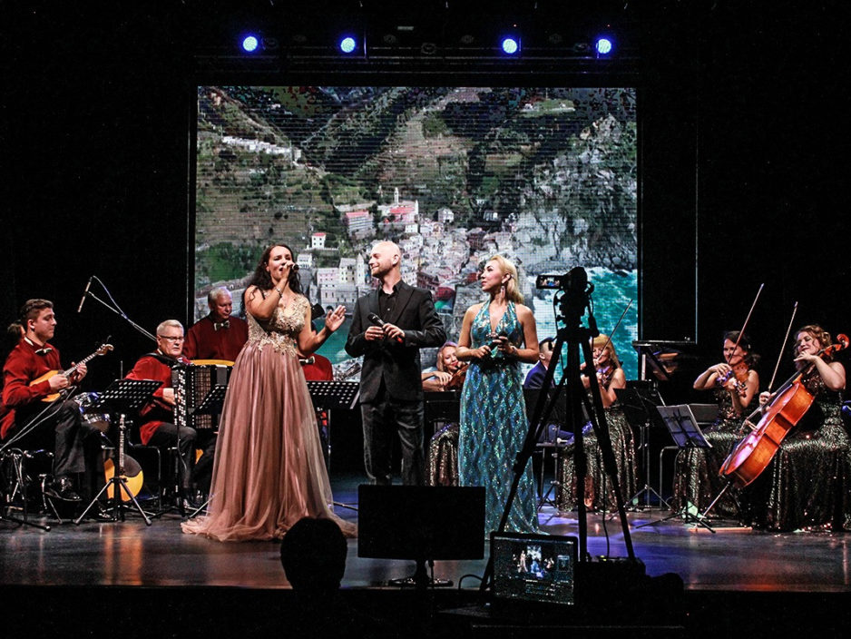 7 января Новогодняя концертная  шоу - программа «Сoncento. Классики VS Народники»