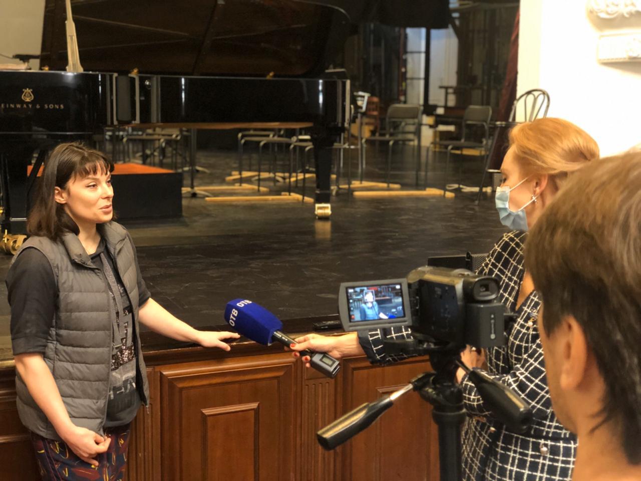Пресс-релиз  Брифинг с участием Екатерины Мечетиной и артистов Приморской краевой филармонии